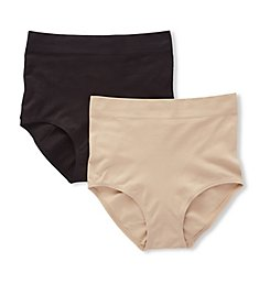 Jones New York Seamless Shapewear 2 Pack Brief Panty 713430P
