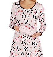 Kate Spade New York Gifty Sleepshirt with Matching Eyemask 5031456