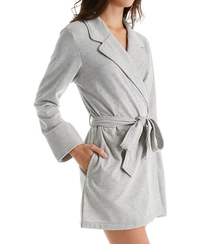 Kate Spade New York Beauty Sleep Brushed Fleece Short Robe 5041251