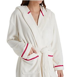 Kate Spade New York Wink Wink Plush Fleece Short Robe 5051460