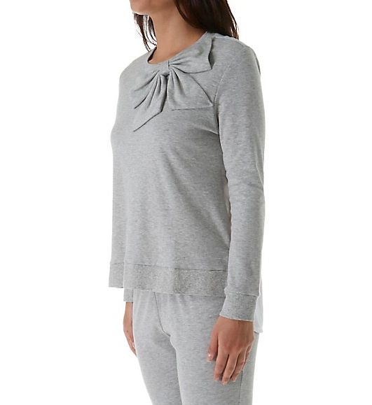 Kate Spade New York Bow Long PJ Set 5091212