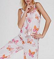 Kate Spade New York Butterflies Capri PJ Set 5091320