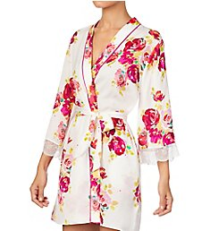 Kate Spade New York Rare Roses Charmeuse Robe KS51950