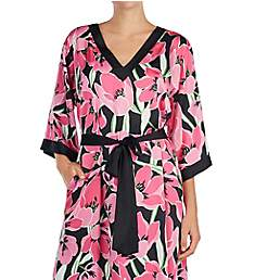 Kate Spade New York Tropical Floral Charmeuse Caftan KS61520