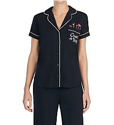 Kate Spade New York Cause A Stir Cropped PJ Set KS91523