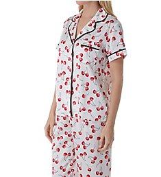 Kate Spade New York Cherry Toss Cropped PJ Set KS91700