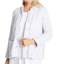 La Cera 100% Polyester Fleece Bed Jacket 8823