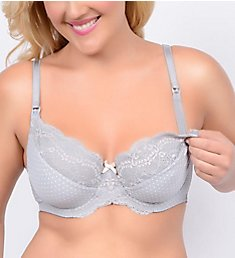 La Leche League Love Dot Multi Part Cup Nursing Bra 4407