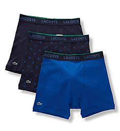 Lacoste Essentials Cotton Classic Boxer Briefs - 3 Pack RAME103