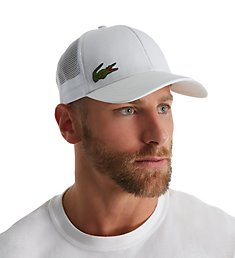 Lacoste Men's Performance Croc Logo Trucker Hat RK2321