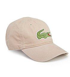 Lacoste Men's Big Croc Gabardine Hat RK8217