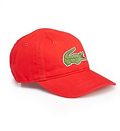 Lacoste Men's Big Croc Gabardine Hat RK8217