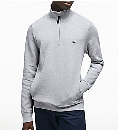 Lacoste Semi Fancy 1/4 Zip With Rib Knit Detail SH9252