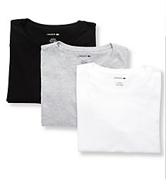 Lacoste Essential Slim Fit Crew Neck T-Shirts - 3 Pack TH3451