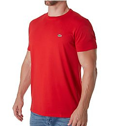 Lacoste Pima Short Sleeve Crew Neck T-Shirt TH6709
