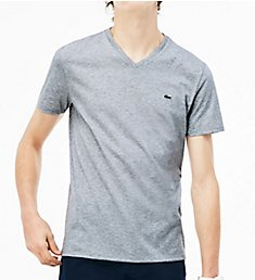 Lacoste Pima Short Sleeve V-Neck T-Shirt TH6710
