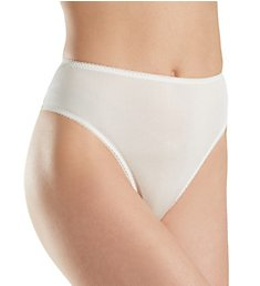 Linda Hartman Silk Knit High Cut Brief Panty 774014