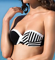 Lise Charmel New Croisiere Padded Strapless Bandeau Swim Top ABA5489