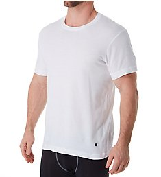 Lucky Cotton Jersey Crew Neck T-Shirts - 3 Pack 00CPT1
