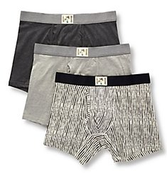 Lucky Cotton Stretch Boxer Briefs - 3 Pack 201PB07