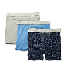 Lucky Core Cotton Boxer Briefs - 3 Pack 201VB06