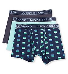 Lucky Cotton Stretch Boxer Briefs - 3 Pack 211PB07