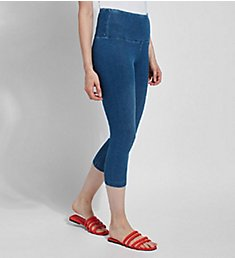 Lysse Leggings Perfect Denim Shaping Capri 6173C