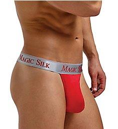 Magic Silk 100% Silk Knit Micro Thong 4586