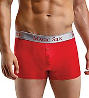 Magic Silk 100% Silk Knit Button Boxer Brief 6786