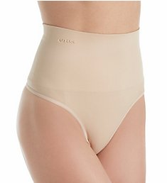 MeMoi SlimMe Seamless High Waisted Shaping Thong MSM-104
