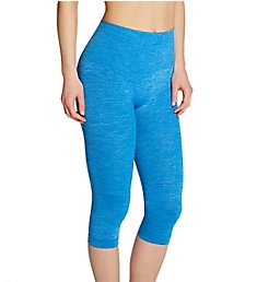 MeMoi SlimMe Seamless High Waisted Capri Legging MSM-109
