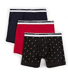 Nautica Stretch Boxer Briefs - 3 Pack X61304