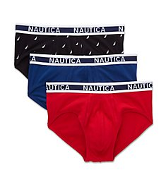 Nautica Cotton Stretch Briefs - 3 Pack Y61303