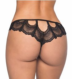Oh La La Cheri Lace Key Hole Panty with Corset Back 10356