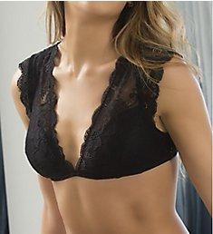 Oh La La Cheri Suzette Lace Bralette with Cap Sleeve 10641