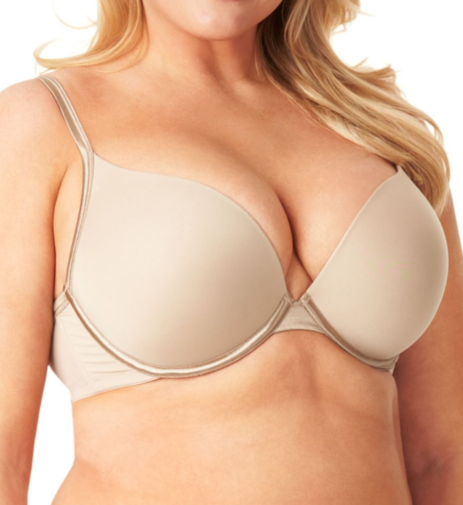 Olga Flirty Deep Plunge Contour Bra with Bump GD0711A