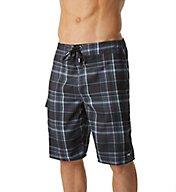 O'Neill Santa Cruz Plaid Quick Dry 21 Inch Boardshort 7106031