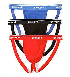 Papi Cotton Jockstraps - 3 Pack 705910W