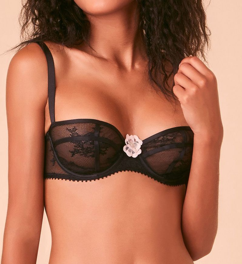 Passionata by Chantelle Demoiselle Floral Lace Unlined Demi Bra 5715