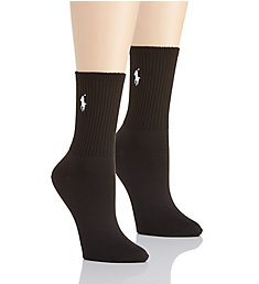 Polo Ralph Lauren Blue Label Super Soft Crew Sock - 2 Pair Pack 71137PK