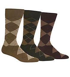 Polo Ralph Lauren Classic Argyle Cotton Socks - 3 Pack 8091PK