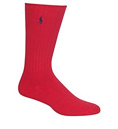 Polo Ralph Lauren Cotton Crew Sock with Polo Embroidery 8205