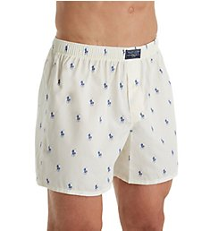 Polo Ralph Lauren Printed Polo Player 100% Cotton Boxer R382HR