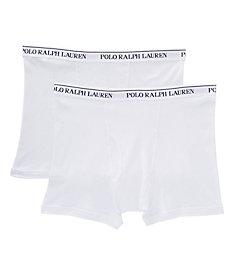 Polo Ralph Lauren Big Man 100% Cotton Boxer Briefs - 2 Pack RXB2P2