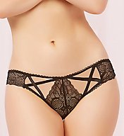 Seven 'til Midnight Geo Galloon Lace Panty 10643