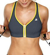 Shock Absorber Active Zipped Plunge Sports Bra S00BW