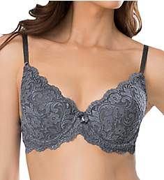 Smart and Sexy Lace Plunge Push Up Underwire Bra 85046