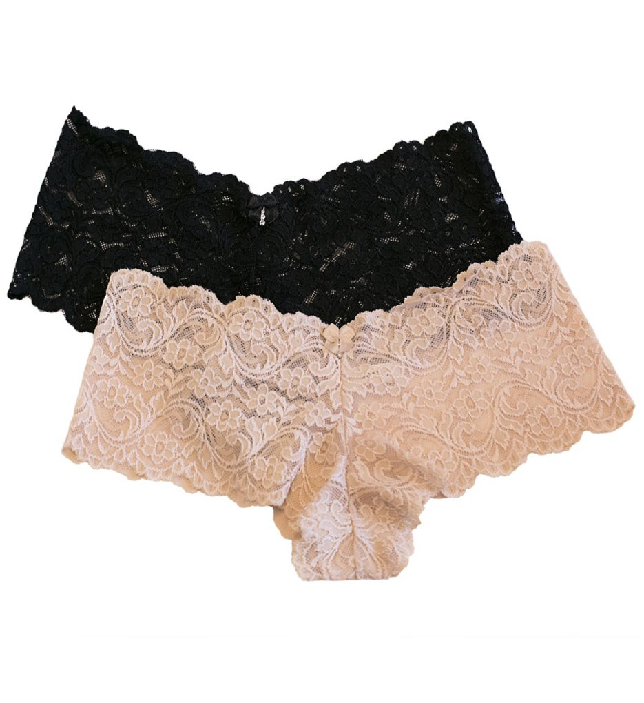 Smart and Sexy Lace Boyleg Panty - 2 Pack SA131