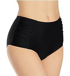 Smart and Sexy High Waisted Bikini Bottom with Side Ruching SA475
