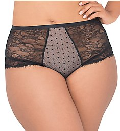 Smart and Sexy Curvy High Rise Cheeky Panty SA905
